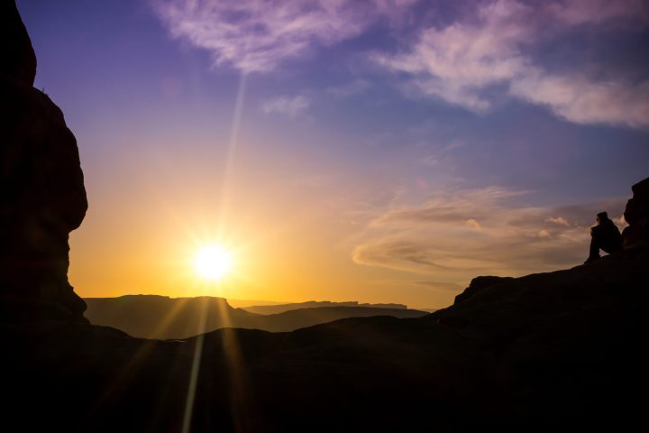 Hiking in the desert 5