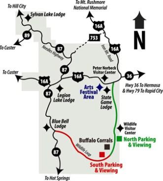Custer State Park Buffalo Roundup 3