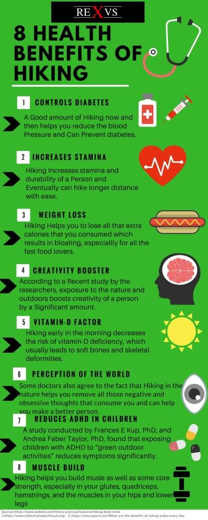 8 Health Benefits Hiking 4