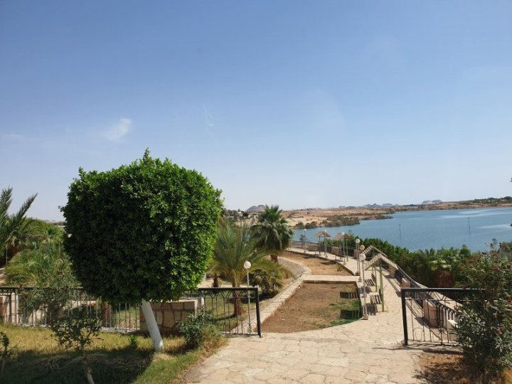 Not a bad aspect at all on Lake Nasser.