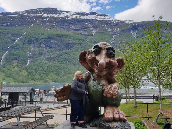 Norwegian Troll at Geiranger
