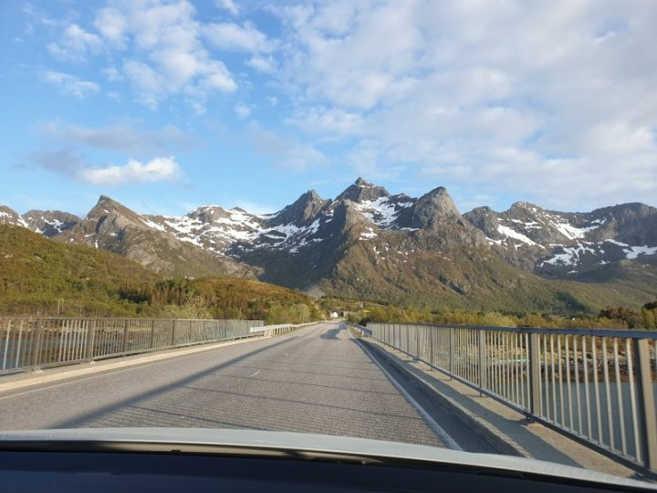 Bridge at Lofoten Islands Norway