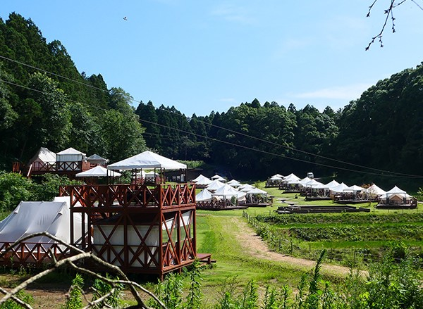 5 Campsites near Tokyo Japan. The Farm.