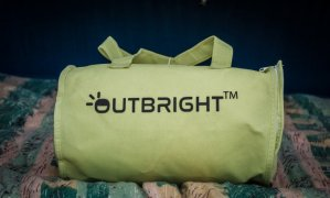 Outbright camping pillow bag