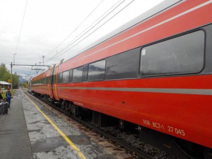 Bergensbanen outside Oslo