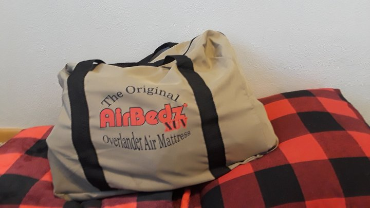 Airbedz air mattress bag