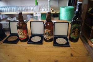 Médailles obtenues par Pit Caribou