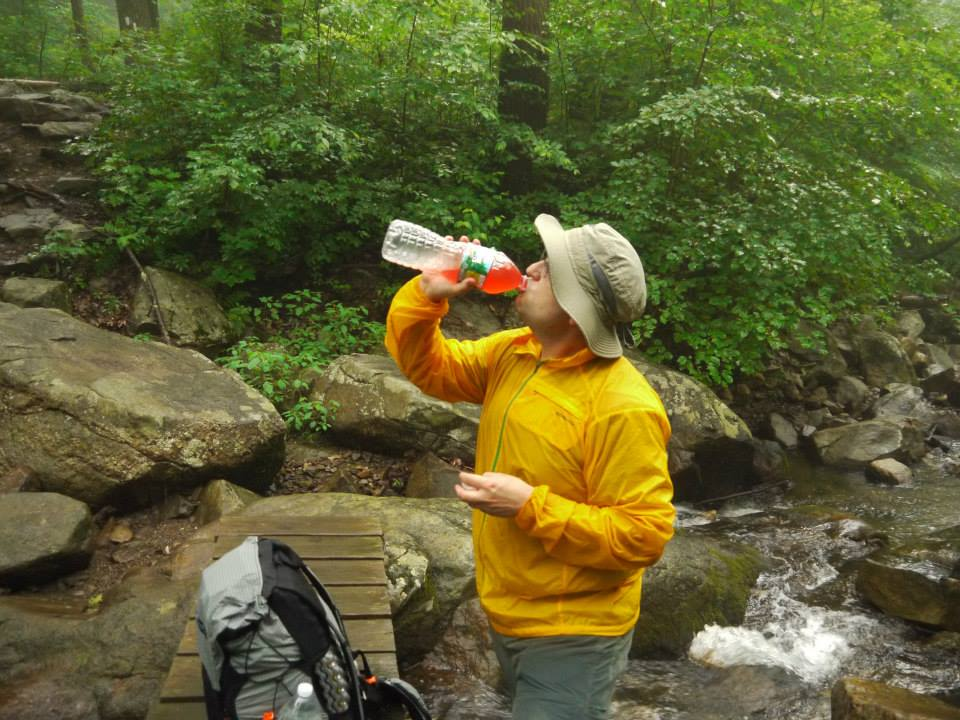 I used to use Poland Springs bottles to store water while hiking, but now I use Fiji Bottles.