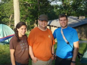 CampingMeg, CampingJay (me!) and PhotoEvan.