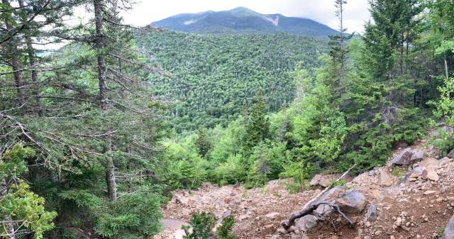 Franconia Ridge from Owl's Head