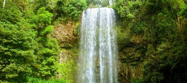 Duschzelt, Outdoor Dusche, Wasserfall