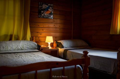 Cabaña 11 dormitorio 1