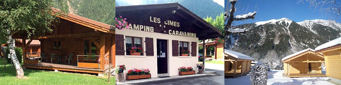 Camping Les Cimes Mont Blanc