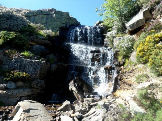 Saltos de agua en Cebollera