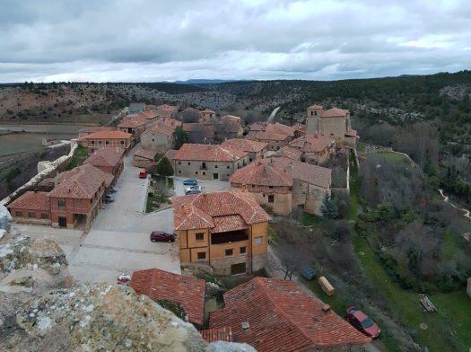 Vistas desde el Castillo a la Plaza Mayor