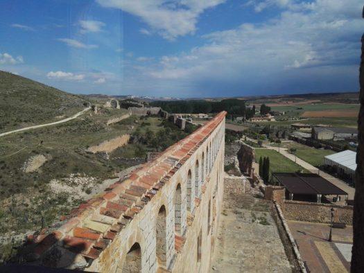 Fachada del Palacio de los Marqueses de Berlanga. Pueblos medievales