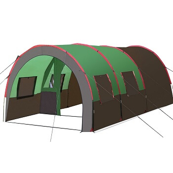 Tunnel tents can offer a considerable amount of space and come in a wide range of shapes and sizes. More often than not a tunnel tent is a choice for a ...  sc 1 st  C&ing Stove Cookout & Camping Tent Styles Different Types and Care Tips Explained ...