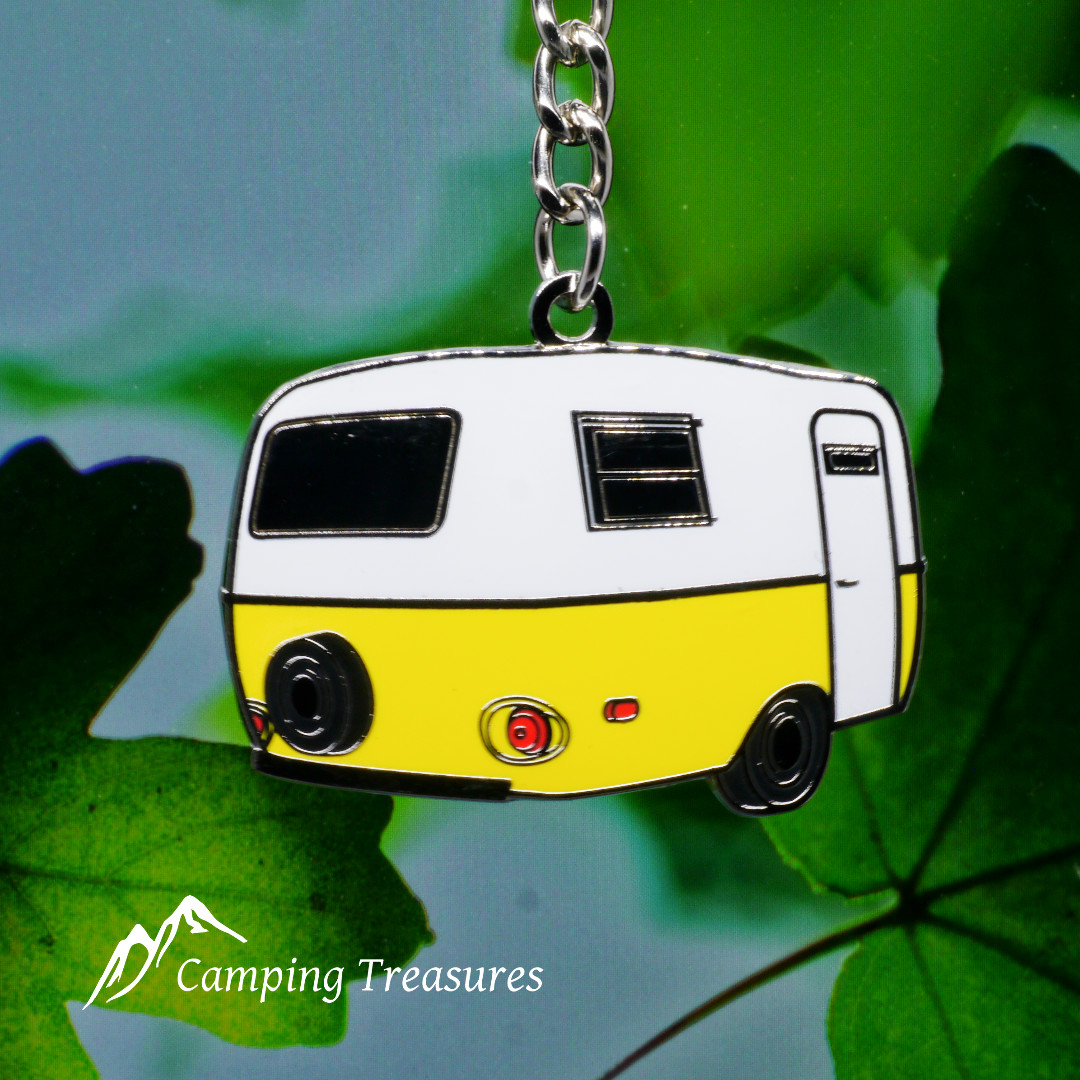 Key Chain – Boler/Scamp – Yellow