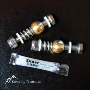 Boler/Scamp – Stainless Steel Door Hinge Repair Kit