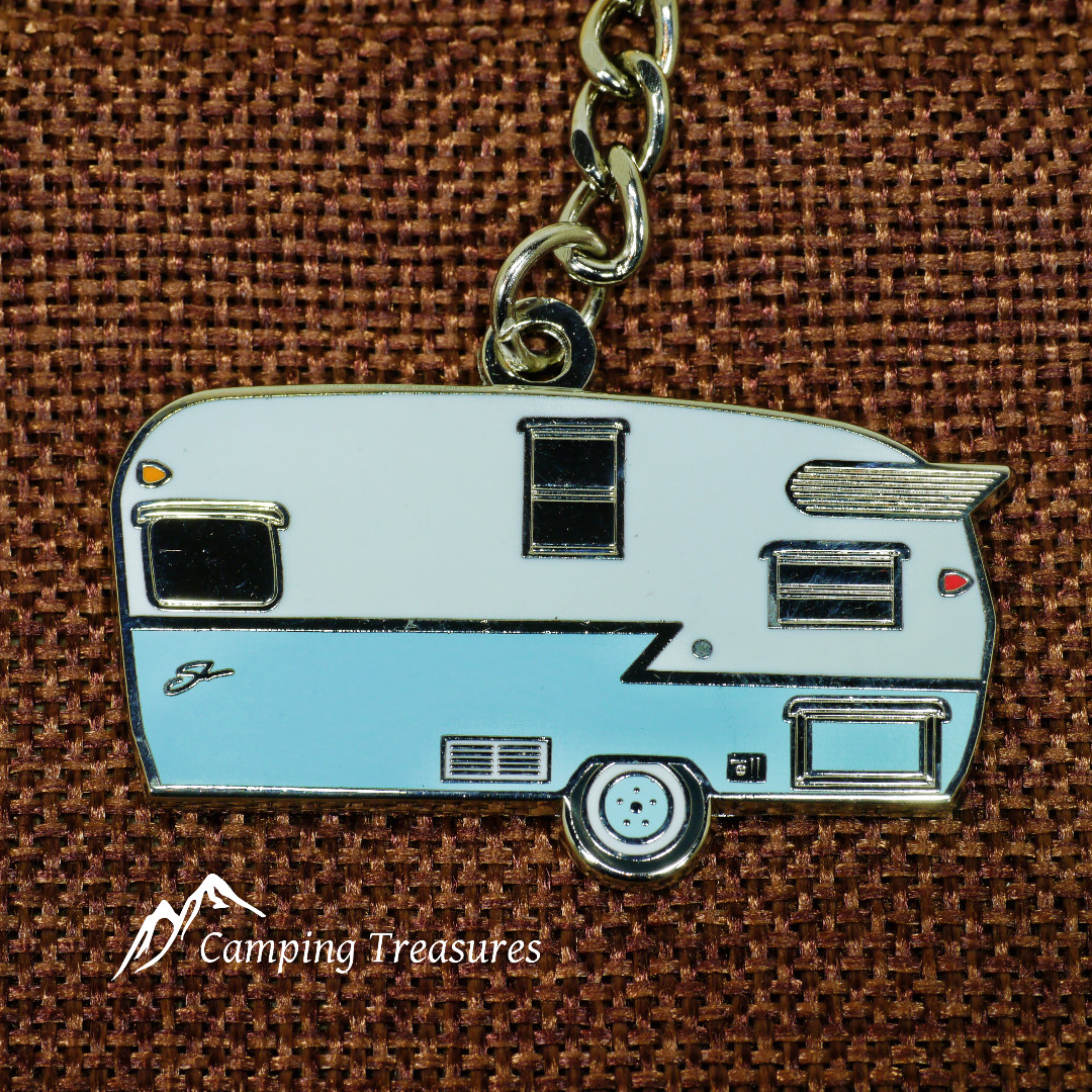 Key Chain – Shasta – Blue