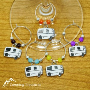 Wine Glass Charms – Trillium/Escape