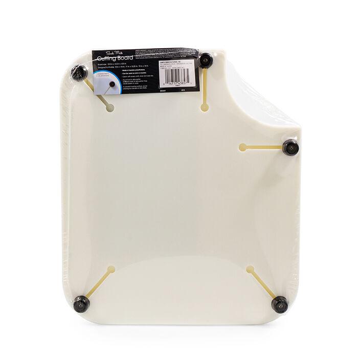 sink mate cutting board white