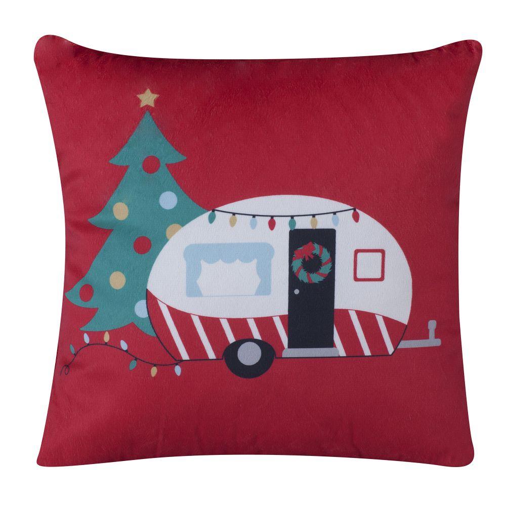 Christmas Camper Pillow at Camping World