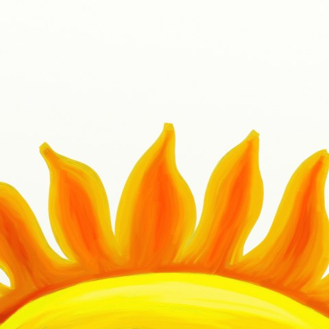 Hot Sun Graphic