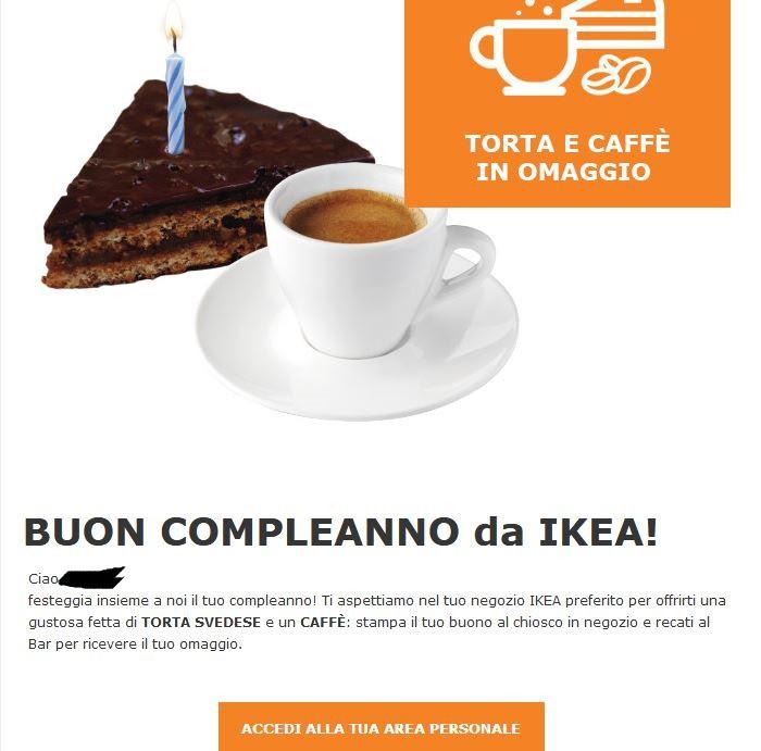 Ikea Omaggio E Coupon Per Il Compleanno Campioniomaggio