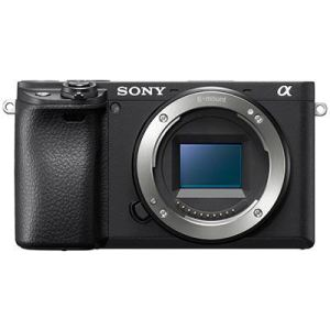 Sony a6400 Camera Body Front Facing