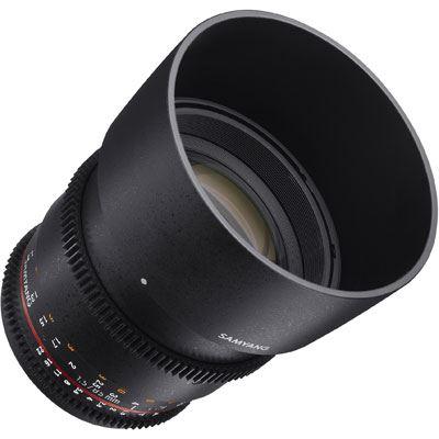 Samyang 85mm T1.5 AS IF UMC II VDSLR Lens