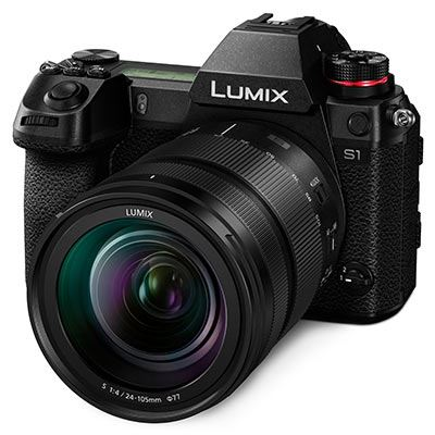 Panasonic Lumix S1 Digital Camera with 24-105mm Lens