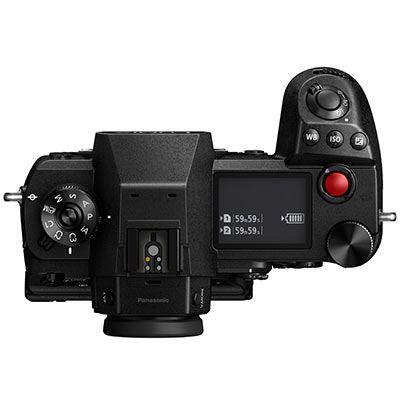 Panasonic Lumix S1H Digital Camera Body top