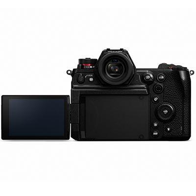 Panasonic Lumix S1H Digital Camera Body back with screen flip out