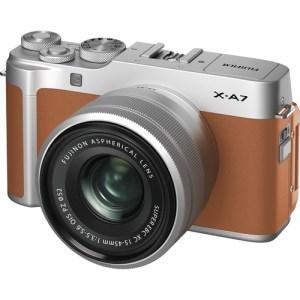 Fujifilm X-A7 Camel