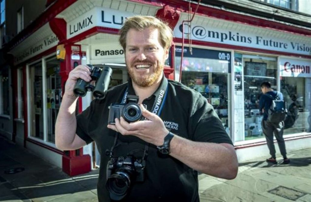 Campkins Cameras - Owen Howell - Helping you at home