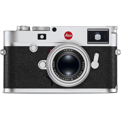 Leica M10-R Digital Rangefinder Camera (Silver Chrome)