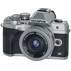 Olympus EM10 IV front with lens