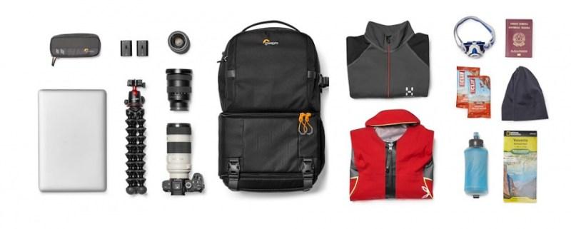 camera backpack lowepro fastpack bp 250 aw iii lp37333 pww flatlay a rgb