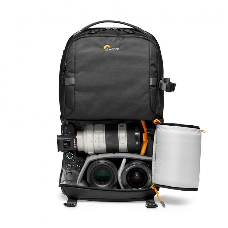 camera backpack lowepro fastpack bp 250 aw iii lp37333 pww mirrorless stuffed rgb