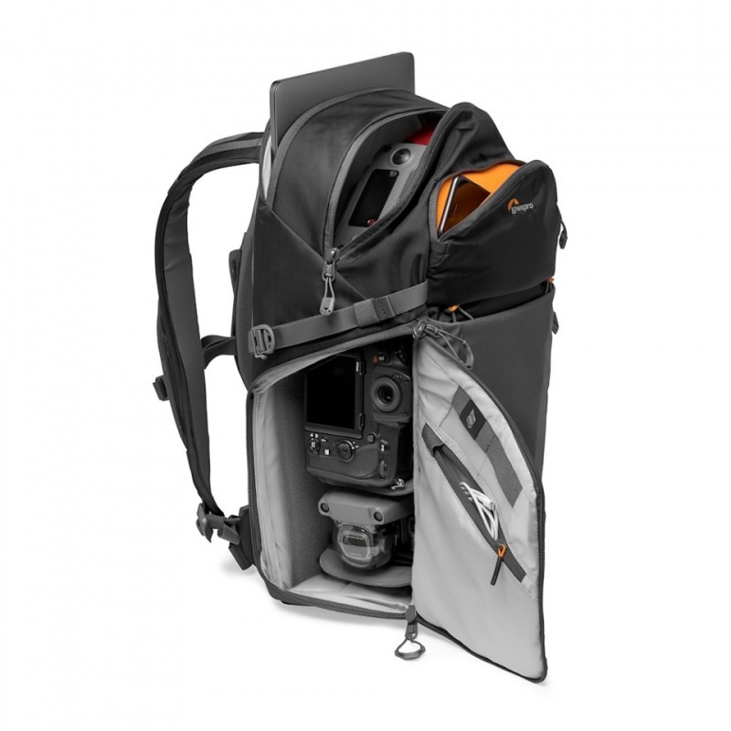 camera backpack lowepro photo active bp 300 lp37255 pww stuffed nikond850 mavic
