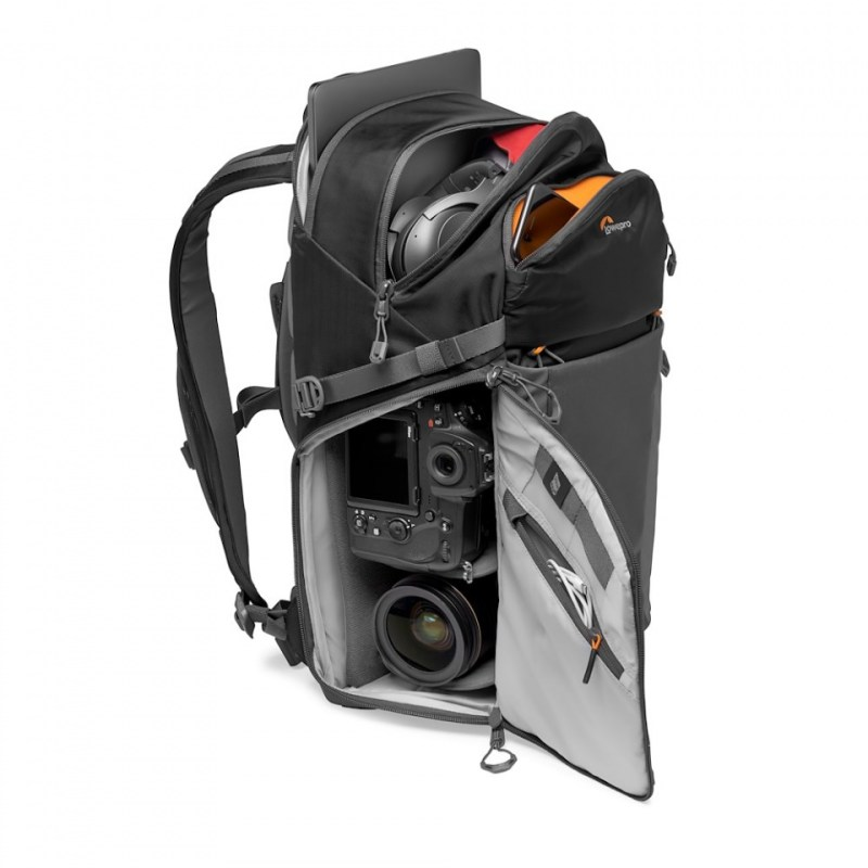camera backpack lowepro photo active bp 300 lp37255 pww stuffed nikond850