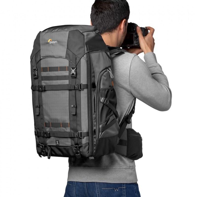 camera backpack lowepro pro trekker bp 550 aw ii lp37270 pww onbody