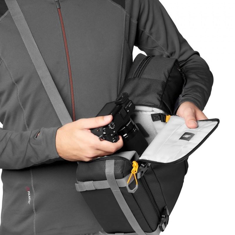 camera backpack lowepro slingshot sl 250 aw ii lp37335 pww quickdoor stage1 rgb