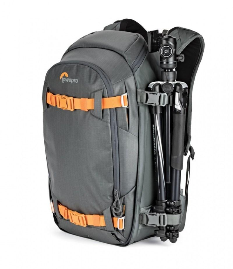 camera backpack whistler bp 350 aw ii lp37226 side tripod