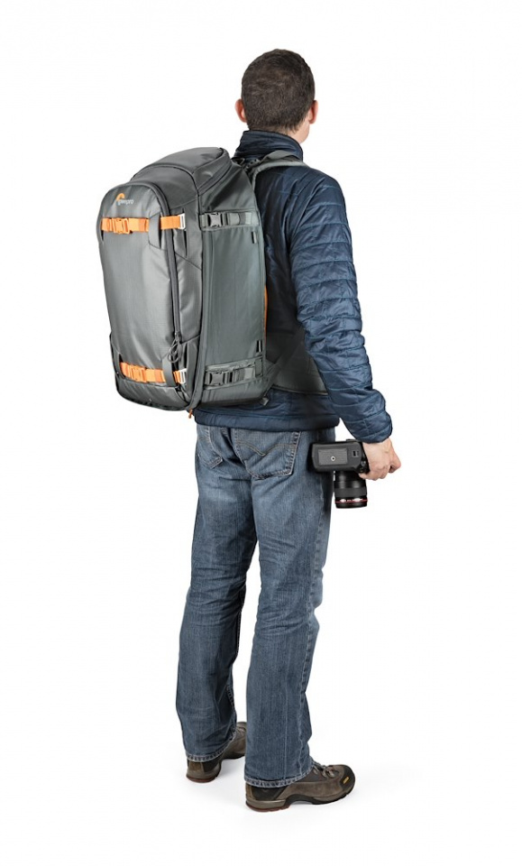 camera backpack whistler bp 450 aw ii lp37227 onbody