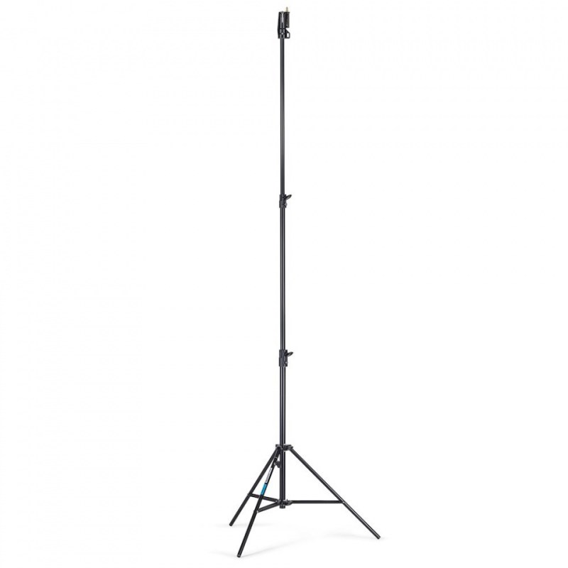 lighting stand manfrotto blk air cushioned alu senior 007buac 1 1
