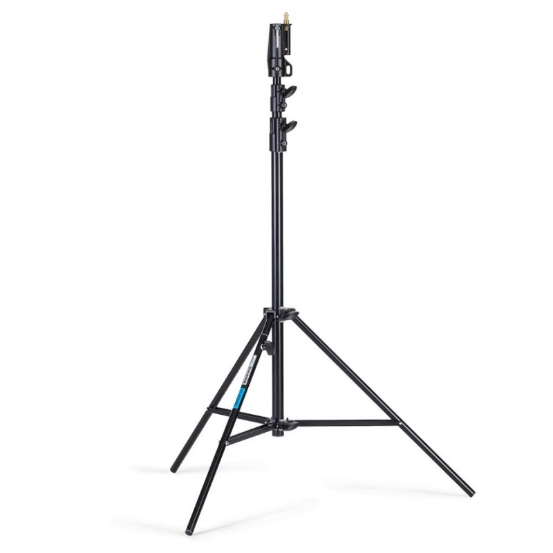 lighting stand manfrotto blk air cushioned alu senior 007buac