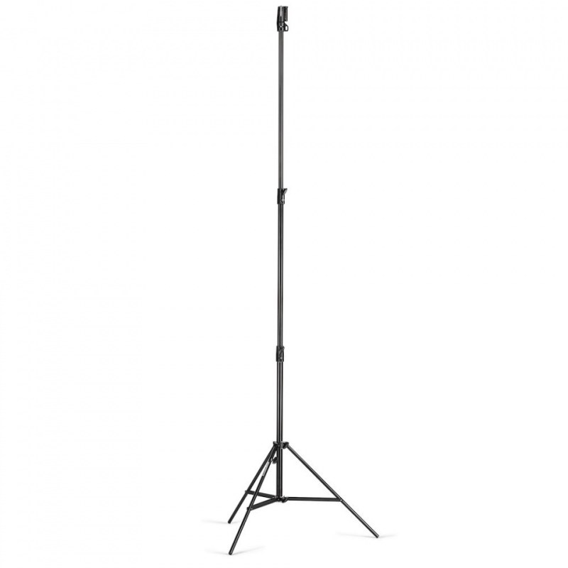 manfrotto heavy duty stand air cushioned black steel 126bsuac 1