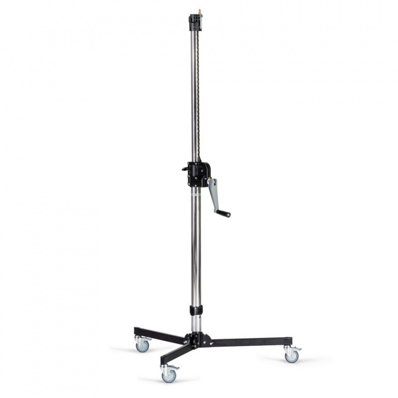 manfrotto steel 2 s low base wind up stand 083nwlb 1